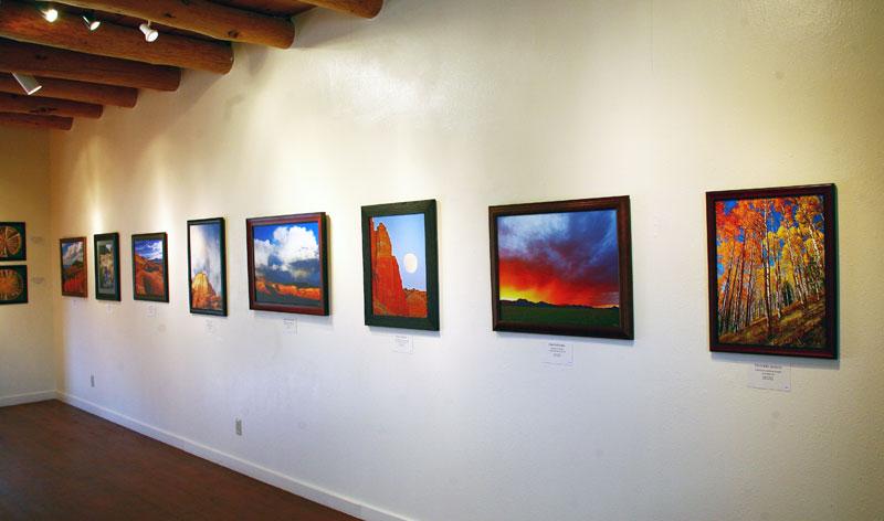 Gary Cerveny Showing Abiquiu Inn Galeria Arriba